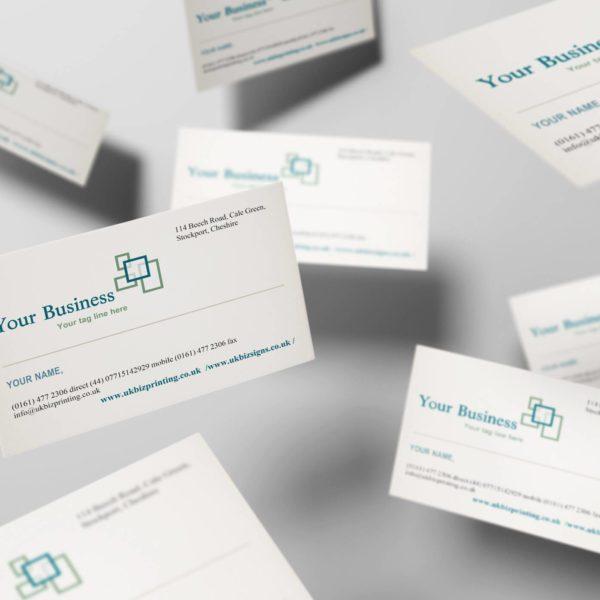 Economy Silk 350gsm Business Cards