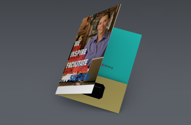 A4 printed-folder-ukbizprinting