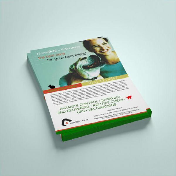 A3 150gsm leaflets photo image