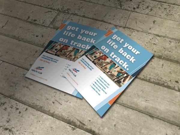 A4 gloss leaflets