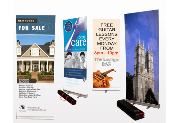 NEW ROLLER BANNERS