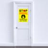 A2 Stop coronavirus sign