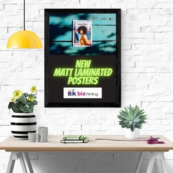 A3 Matt laminated poster printing